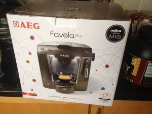 AEG coffee machine