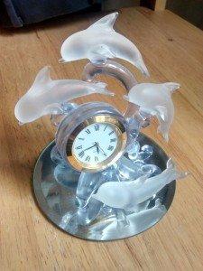 analogue mantle clock