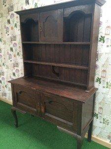 English oak dresser