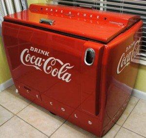 Coca Cola cooler machine