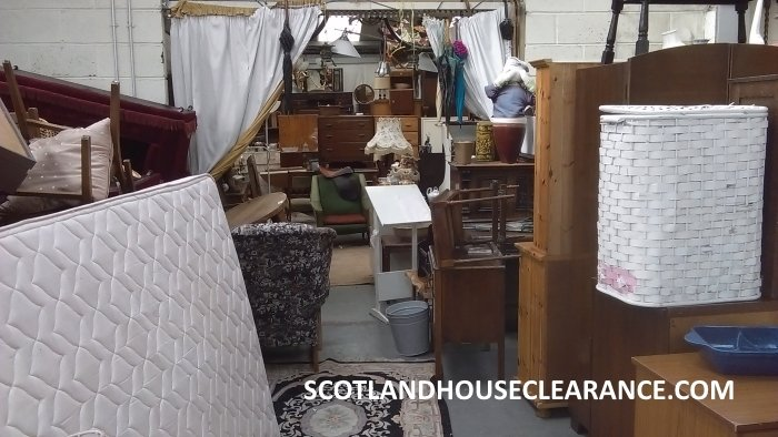 Scotland House Clearance Reusable Items Warehouse