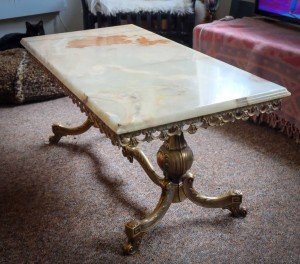 shabby style coffee table