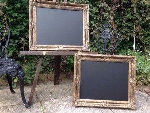 matching chalk boards
