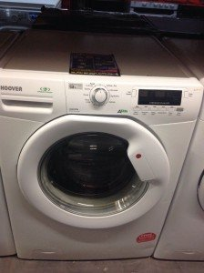 White Hoover 9kg Washing Machine.