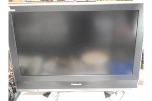 A Panasonic Viera colour television.