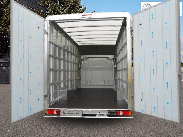 Back Rear House Clearance Van