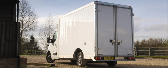 Rear Of House Clearance Van