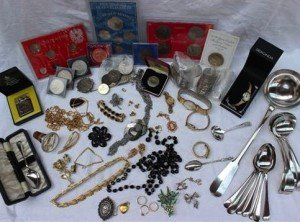 collection of assorted costume jewellery