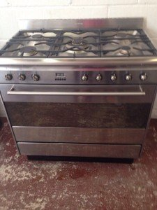 double range cooker