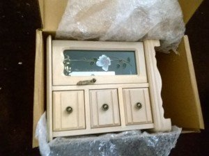 shabby chic jewellery box