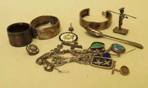 Chinese silver cufflinks