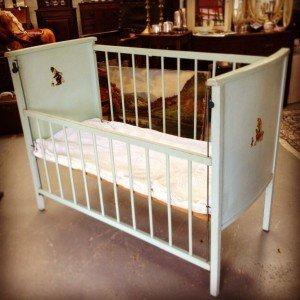 1960's baby cot
