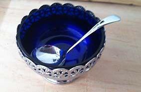silver based sugar bowl