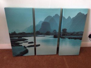 landscape canvases