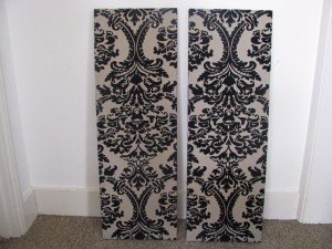 large wall panelled canvases