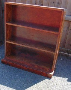 two shelf shelving unit