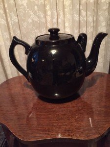 two handle teapot