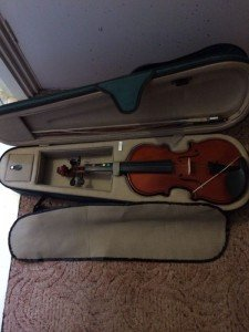 three quarter violin
