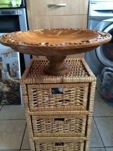 wicker set of drawers