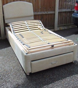 single adjustable electric bed
