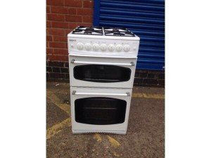white Beko gas cooker