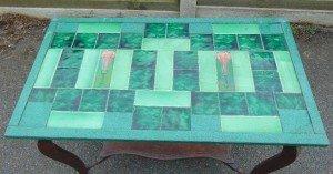 oak base coffee table