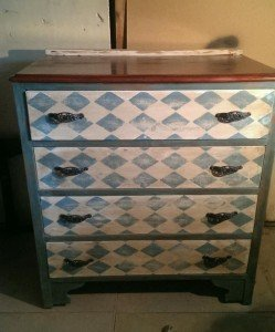 up cycled drawers