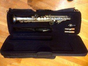 soprano saxophone,