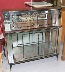 glass cocktail/ drinks cabinet