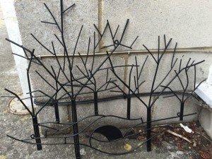 ornamental fire guard
