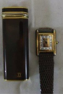 vermeil wristwatch