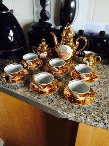 fine China porcelain tea set