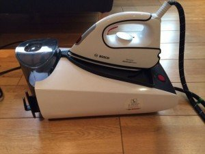 steam iron and base