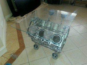 engine block table base