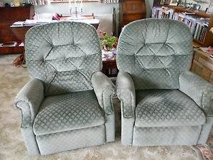 reclining armchairs