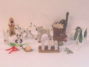 porcelain animal ornaments