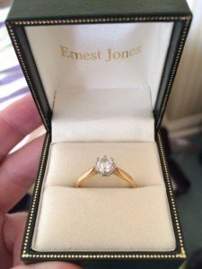 half carat diamond ring i