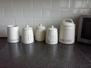 ceramic kitchen canisters