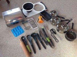 kitchen house hold goods,
