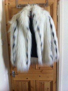 shaggy winter coat
