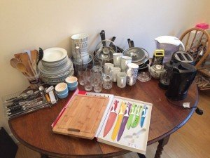 collection of household goods