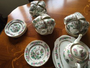 China tea set,