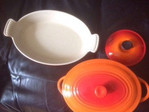 Le Creuset dinner set