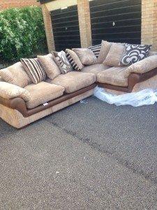 four seat corner sofa