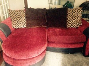 three seater corner sofa