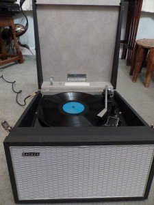 single record player