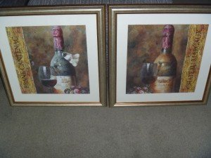 framed watercolour prints