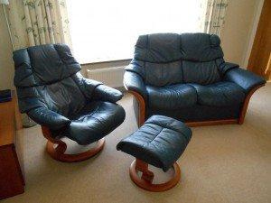 Ekornes sofa suite