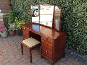 vintage stag vanity table