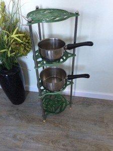 four tier pan rack